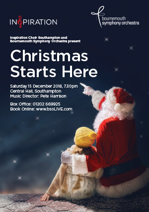 Christmas Is Here with Inspiration Southampton and Bournemouth Symphony Orchestra