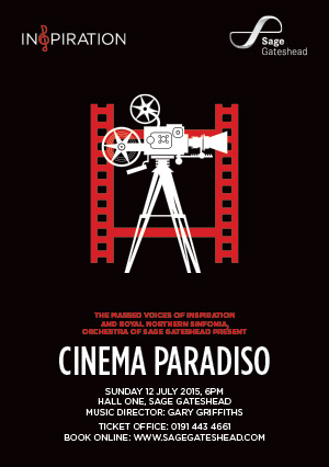Inspiration and Royal Northern Sinfonia present Cinema Paradiso