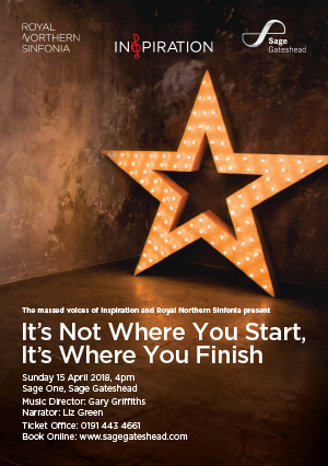 Inspiration Newcastle: It's Not Where You Start, It's Where You Finish