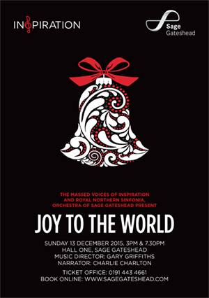 Inspiration and Royal Northern Sinfonia present Joy To The World