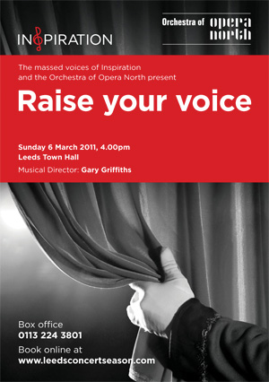 Inspiration Raise your voice! – Leeds