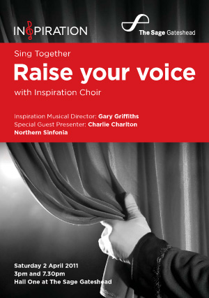 Inspiration Raise Your Voice! – Newcastle
