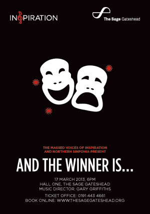 Inspiration and Northern Sinfonia present  'At The Winner Is…' at The Sage Gateshead