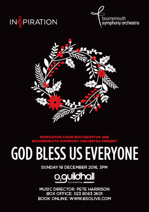 Inspiration Southampton present: God Bless Us Everyone