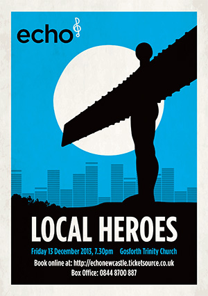 Echo Newcastle presents Local Heroes
