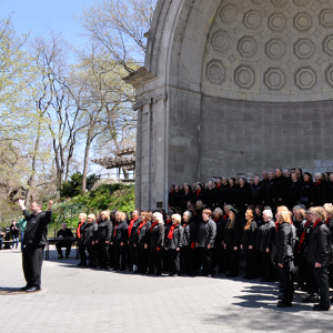 Inspiration perform in Central Park