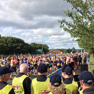 Echo at Great North Run